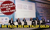 """Mehmet Uras, """"Bir yılda 382 km iltisak hattı talep edildi"""""""