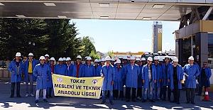 Tüdemsaş'ı Tokat'tan Liseliler Ziyaret Etti