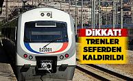 Ankaralılar dikkat! Trenler seferden kaldırıldı