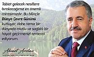 Bakan Arslan'ın Dünya Çevre Günü Mesajı