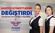 TCDD Taşımacılık hostes kıyafetlerini değiştirdi