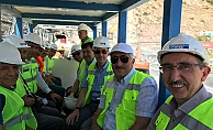 Türkiye'nin en uzun demiryolu tünelinde çalışmalar devam ediyor