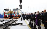 Demiryollarında tarihi gün! Bakü-Tiflis-Kars demiryolu açıldı
