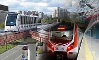 İstanbul'daki ulaşım yatırımları hız kesmeden devam ediyor