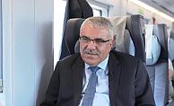 Konya Şeker Genel Müdürü Erence: YHT ile hayatımız  kolaylaştı