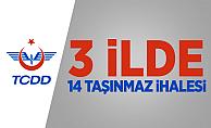 TCDD'den 3 ilde 14 taşınmaz ihalesi