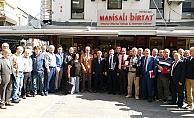 TCDD İzmir 3. Bölge Müdürlüğünde emekli olan personele veda yemeği düzenlendi