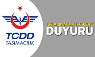 TCDD Taşımacılık'tan işe alınacak işçiler için duyuru