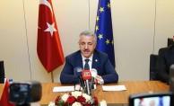 Bakan Arslan Brüksel'de önemli açıklamalarda bulundu