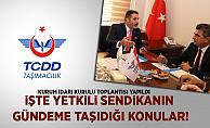 TCDD Taşımacılık'ta, kurum idari kurul toplantısı yapıldı