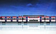 Türkiye'nin ilk çift katlı treni İzmir'e geliyor