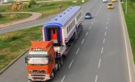 Antalya'ya tren TIR'la geldi!