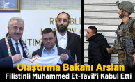 Bakan Arslan, Down Sendromlu Filistinli Muhammed Et-Tavil'i Kabul Etti