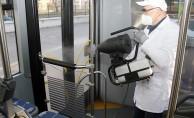 Otobüsler nano teknolojiyle temizleniyor - Kocaeli Haberleri