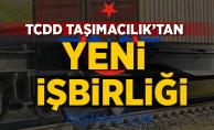 TCDD Taşımacılık'tan yeni işbirliği
