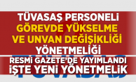 TÜVASAŞ Personeli Görevde Yükselme ve Unvan Değişikliği Sınav Yönetmeliği Resmi Gazete'de yayımlandı