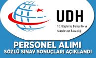 Ulaştırma Bakanlığı Uzman Yardımcısı Sözlü Sınav Sonuçları Açıklandı