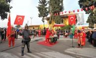 Atatürk'ün Osmaniye'ye gelişi tren istasyonunda başlayan törenle kutlandı