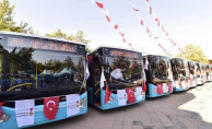 Kahramanmaraş'ta yeni otobüs hatları sefere başladı