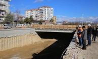 Karaman'da Larende Alt Geçidinde Çalışmalar Devam Ediyor