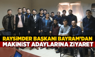 RAYSİMDER'den Makinist Adaylarına Ziyaret