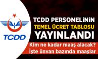 TCDD 2018 temel ücret skalası yayımladı