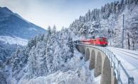 Turistlerin imdadına tren yetişti