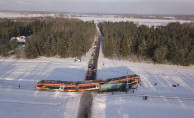 Estonya'da tren kazası! 9 yaralı