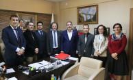 TCDD Taşımacılık Basın Müşavirliğinden Cankesen'e 'hayırlı olsun' ziyareti