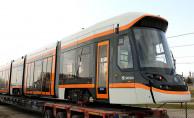 Eskişehir'in Çekya'dan aldığı tramvayların ilki geldi