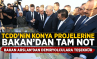 TCDD'nin Konya Projelerine Bakan'dan Tam Not