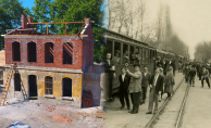 Tarihi Gar Binaları Gün Yüzüne Çıkıyor