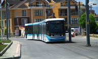Akçaray Tramvay Tabelaları Yeni Yapılacak Durakların Yerlerine Dikildi