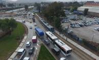 Bostanlı Köprüsü'nde Yeni Trafik Düzenlemesi