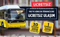 Diyarbakır'da YKS'ye Girecek Öğrencilere Ücretsiz Ulaşım