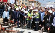 Eskişehir'de Yeni Tramvay Hattının Temeli Atıldı