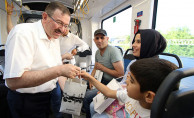 Genel Sekreter Bayram, Akçaray'da İftariyelik Dağıttı