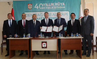 Sivas Demirağ Organize Sanayi Bölgesi İçin İmzalar Atıldı