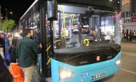 Sivas'ta Yenişehir Bölgesi'nde Otobüs Güzergahında Değişiklik Yapıldı
