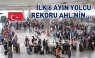 Atatürk Havalimanı'nda İlk Altı Ayda Yolcu Rekoru