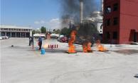 EGO Personeline Temel Yangın Söndürme Teknikleri Eğitimi