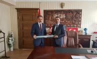 Genel Müdür Kurt'tan Gülşehir Kaymakamı Çağlar'a Ziyaret