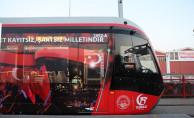 Kayseri'de 15 Temmuz Tramvayı