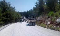 Muğla Büyükşehir Belediyesi, güvenli yollar yapmaya devam ediyor