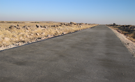 Şanlıurfa'da Beton Yol Çalışmaları