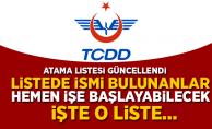 TCDD Personel Alımı Sonuçları (27 Temmuz 2018)