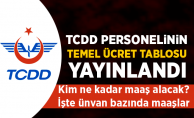 TCDD Temel Ücret Skalası Yenilendi (1 Temmuz 2018) - TCDD'de kim ne kadar maaş alacak?