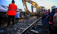 Tren kazasının yaşandığı hatta yük trenleri çalışacak