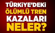 Türkiye'de Gerçekleşen Ölümlü Tren Kazaları