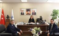 Bölge Müdürü Koçbay'dan Rektör Hotar'a ziyaret